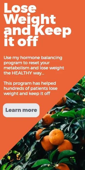 thyroid metabolism reset poster for side bar