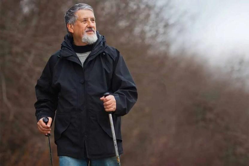 Nordic walking - správna technika chôdze