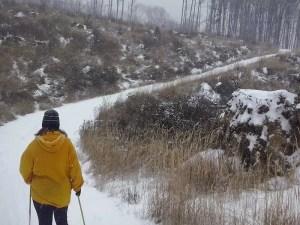 Zasnežený výlet na Sakrakopec