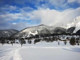 Výhľad na Dachstein