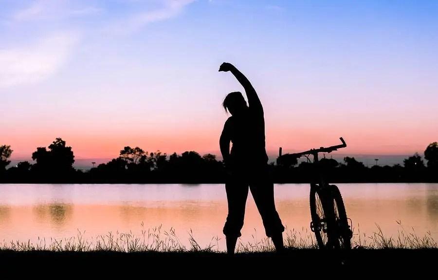 strecing cyklisti