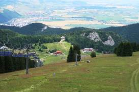 Malinô Brdo - turistické trasy/ cyklotrasy