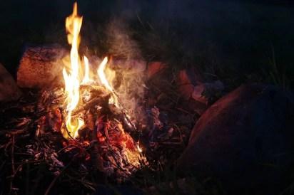 Pri ohni