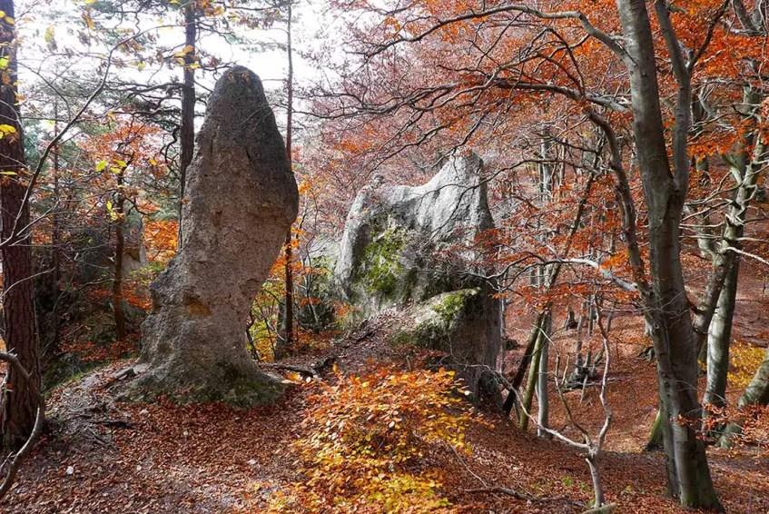 Súľovské skalné kreácie