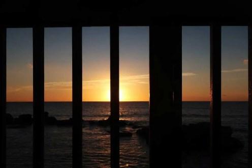 ostatný západ slnka na SIcílii
