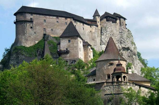 hrad Orava