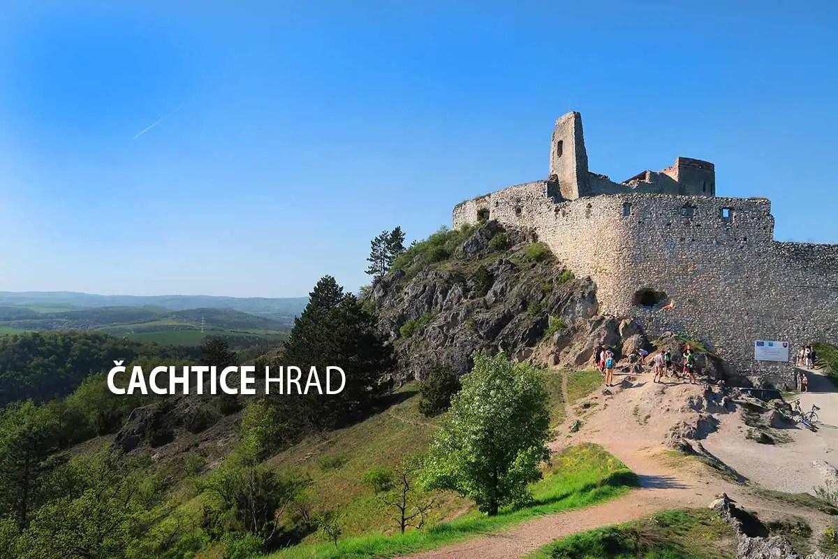 Čachtice - odporúčané turistické trasy/ cyklotrasy