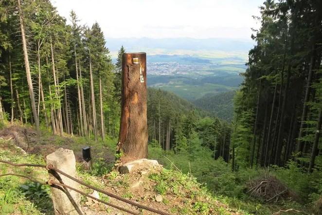 Martinské hole -turistické trasy/ cyklotrasy