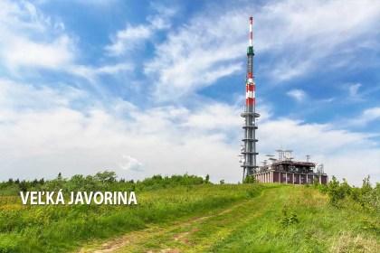 Veľká Javorina - turistické trasy/ cyklotrasy
