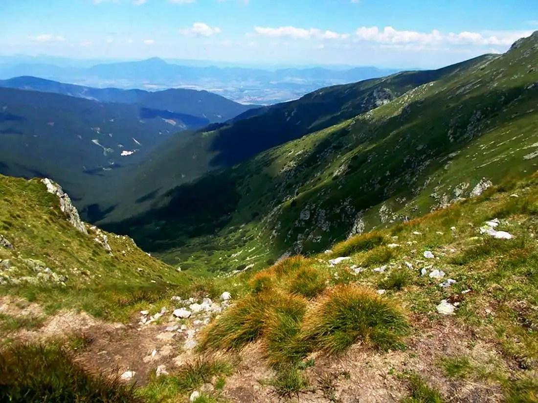 Hrebeňovka Nízke Tatry - 54. prechod SNP z Telgártu do Španej Doliny
