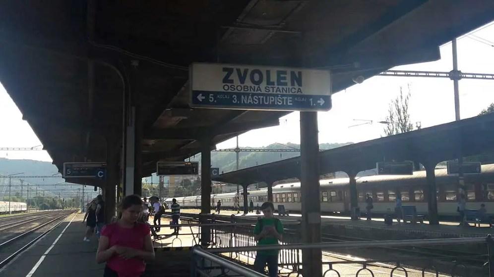 Stanica Zvolen
