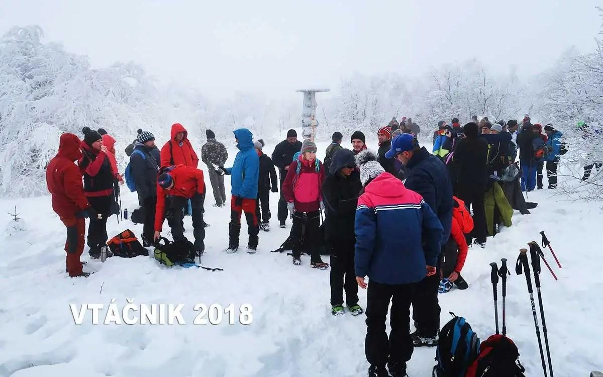 Silvestrovský výstup na Vtáčnik 2018