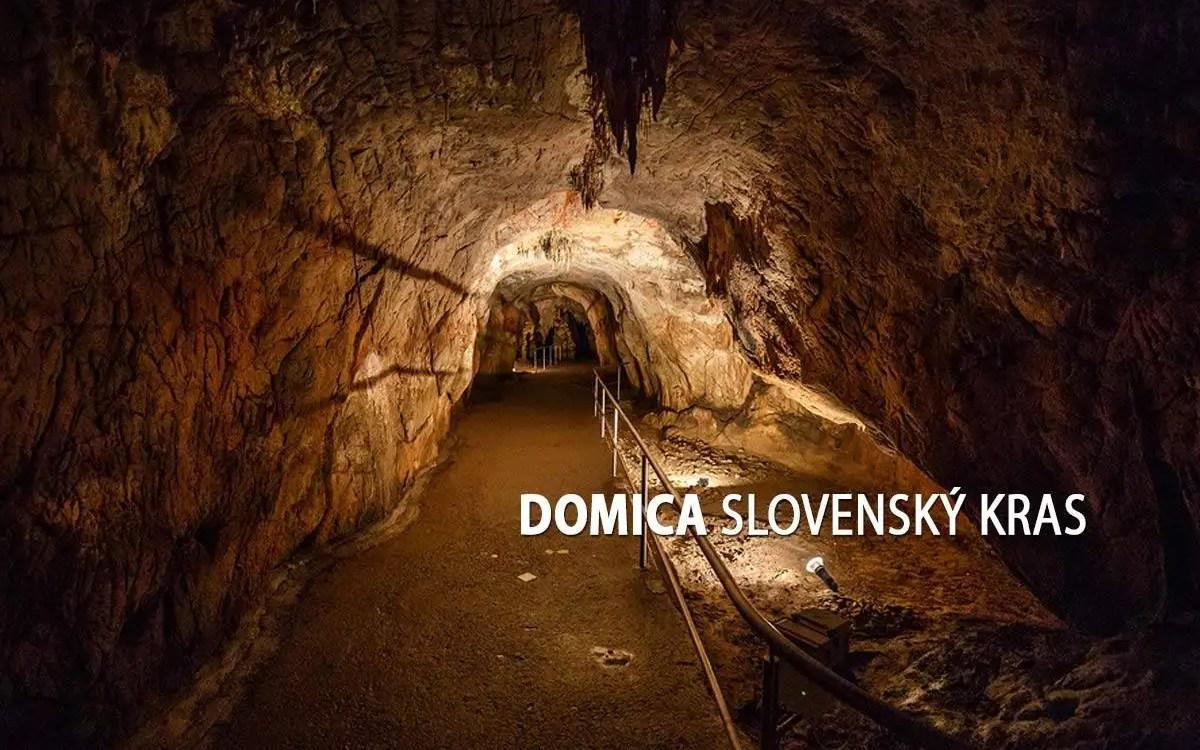 Domica a jaskyne Slovenského krasu - turistické trasy/ cyklotrasy