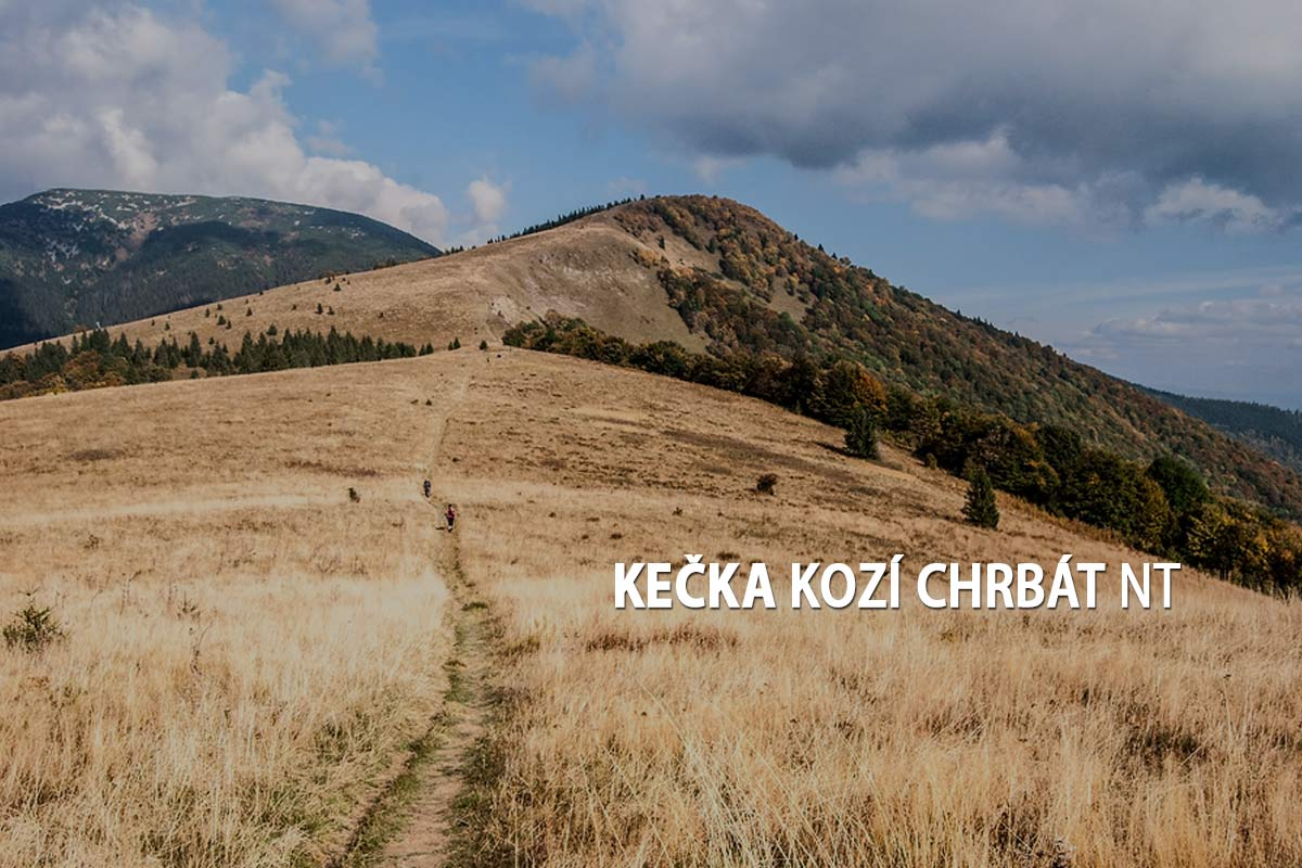 Kečka, Kozí chrbát- turistické trasy/ cyklotrasy