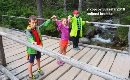 Rodinná kronika: Ako sme zdolávali 7 kopcov 3 jazerá. Štart na Čachticiach