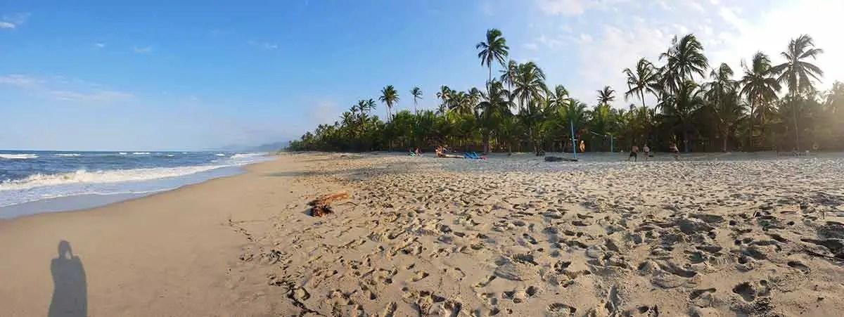 Costeño beach panoráma