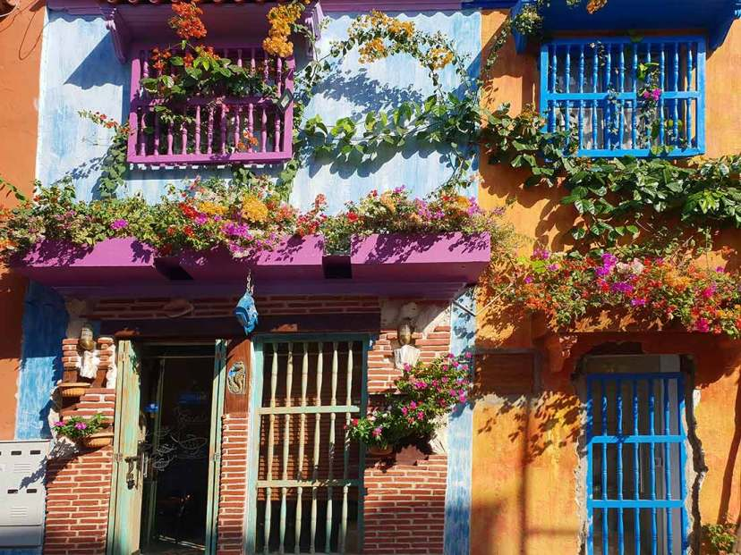 Koloniálne domčeky, Cartagena