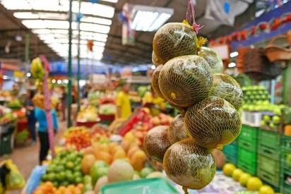Ovocie na trhu, Bogotá