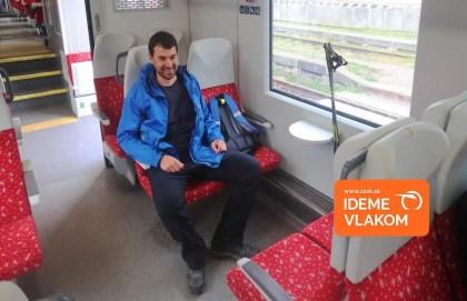Vlakom a s paličkami cez Sklené na Remätu