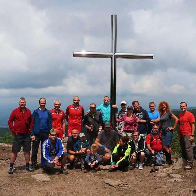 Vtáčnik Ostrý Grúň a Kľakovská dolina 2019 turistický výstup