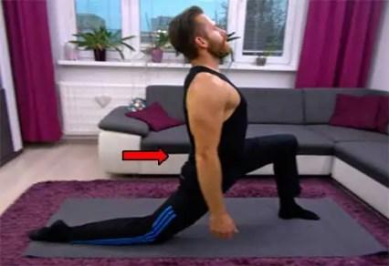 Uvoľnenie: ohýbače bedrových kĺbov