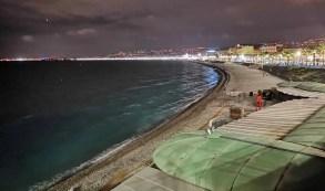 Promenade des Anglais večer