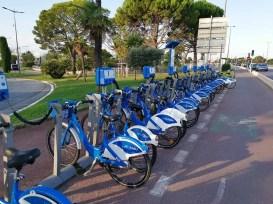 Bikesharing stanica Bluevelo