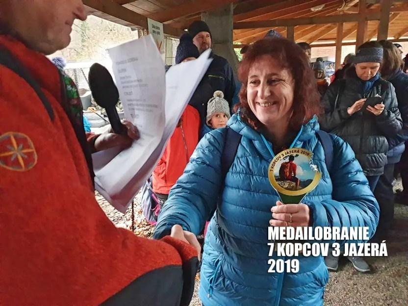 medailobranie 7 kopcov 3 jazerá 2019