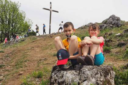 Rodinný výlet na Vysokú turistika výlet s deťmi
