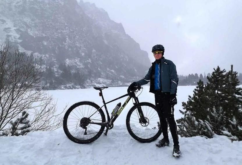 Zimná cyklistika, príprava na jazdu v zime s Marošom Glevaňákom