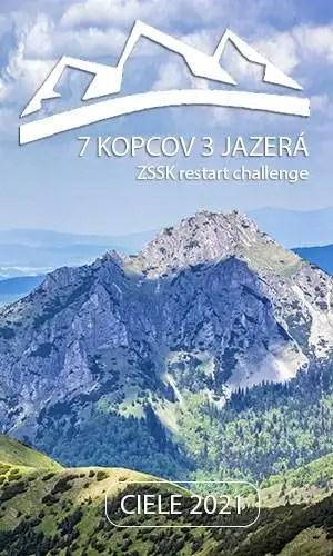 7 kopcov 3 jazerá 2021