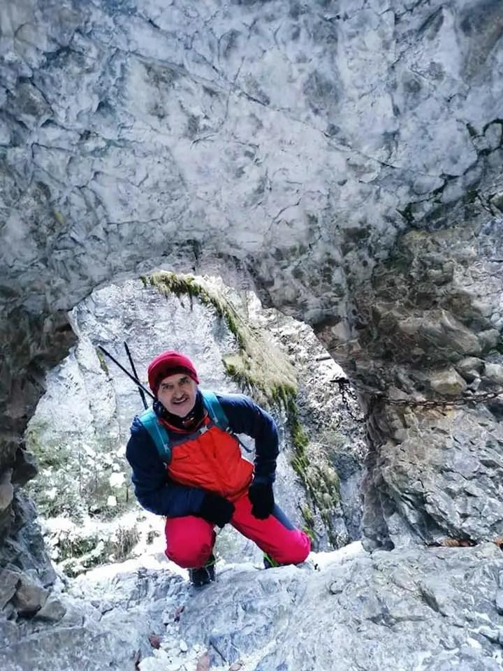 Zimný prechod cez Suchú Belú, okruh Slovenským rajom.