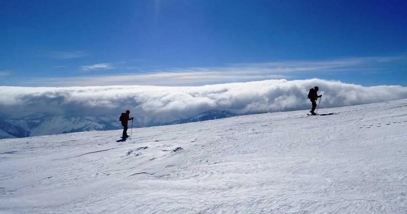 Rovná hoľa, zimná túra s nádhernými výhľadmi v Nízkych Tatrách
