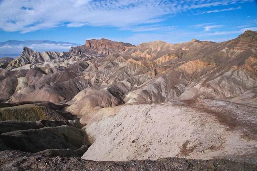 Death Valley, Badwater a Zabriskie Point