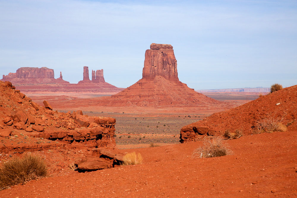 Monument Valley - možno najfotogenickejšie miesto sveta