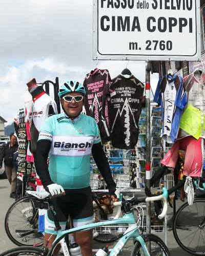 Výlet na bicykli do Bormia