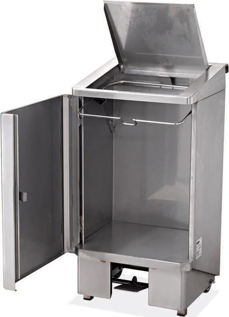 poubelle 60 litres electro broche