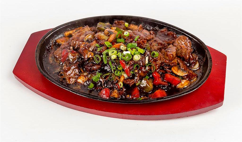Biefstuk met Mongoolse chilisaus nr51