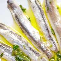 Gemarineerde vis