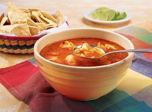 Supa de peste cu ardei gras