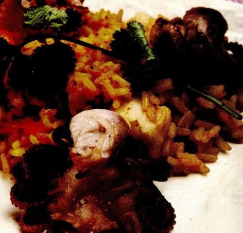 Curry cu fructe de mare