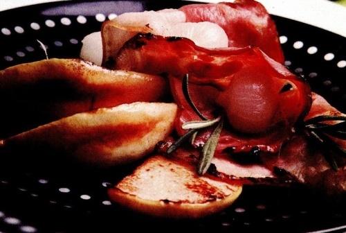 Mâncare de gutui cu bacon
