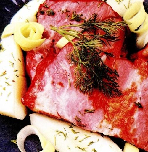 Muşchi de porc cu praz