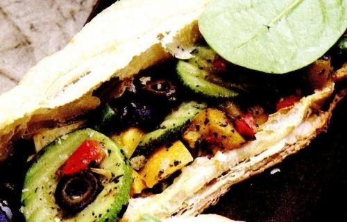 Pacheţele de foitaj cu legume