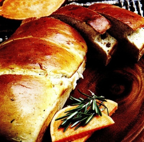 Pâine cu rozmarin
