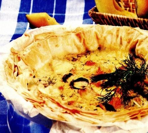 Tartă de legume cu dovleac
