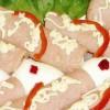 Rulouri de şuncă si salată boeuf