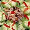 Salată cu macrou afumat si porumb