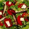 Salată cu peşte afumat şi caş