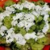 Salată de dovlecei cu sos de iaurt